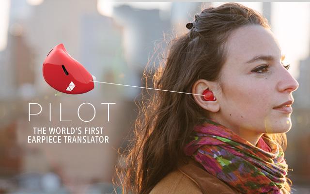 the pilot l'oreillette qui traduit les langues